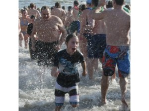 First Day Hero Plunge, Ocean City, NJ